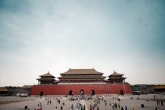 Het paleis van China Stock Foto's