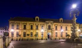 Het Paleis van de aartsbisschop van Sevilla stock foto's