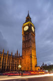 Het Paleis van de Big Ben en van Westminster, Londen Stock Afbeeldingen