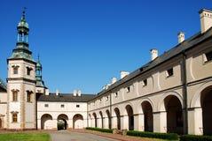Het Paleis van de bischop `s in Kielce. Polen Stock Foto's