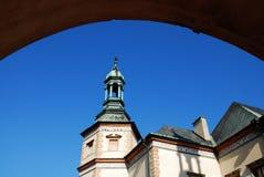 Het Paleis van de bischop `s in Kielce. Polen Stock Fotografie