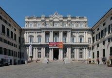 Het Paleis van de doge in Genua stock foto