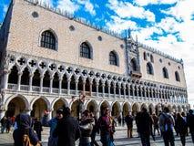 Het Paleis van de Doge van Venetië Stock Afbeelding