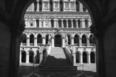 Het paleis van de Doge van Venetië stock fotografie