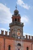 Het paleis van de gouverneur. Cento. Emilia-Romagna. Italië. Royalty-vrije Stock Afbeelding