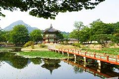 Het paleis van de keizer in Seoel Royalty-vrije Stock Foto