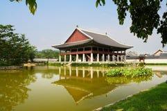 Het paleis van de keizer in Seoel Stock Afbeeldingen