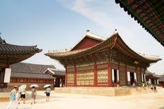 Het paleis van de keizer in Seoel Royalty-vrije Stock Afbeelding