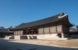 Het paleis van de keizer in Seoel Stock Fotografie