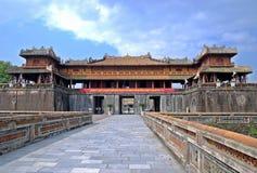 Het paleis van de keizer in Tint, Vietnam Royalty-vrije Stock Foto