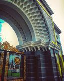 Het paleis van de koning Stock Afbeelding
