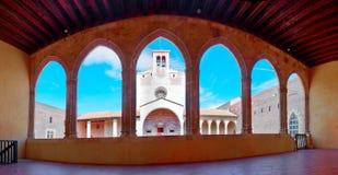 Het paleis van de koningen van Majorca in Perpignan in Frankrijk Stock Afbeeldingen