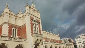 Het paleis van de Kracowmarkt Royalty-vrije Stock Foto's