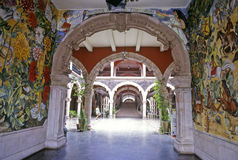 Het Paleis van de Overheid van Aguascalientes Stock Foto