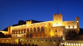Het paleis van de prins in Monaco Royalty-vrije Stock Foto