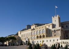 Het Paleis van de Prins van Monte Carlo - Monaco, Frankrijk stock afbeelding