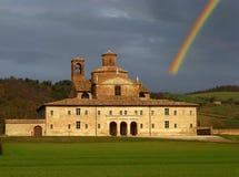 Het paleis van de renaissance Royalty-vrije Stock Foto's