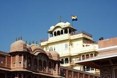 Het Paleis van de stad, Jaipur royalty-vrije stock afbeelding