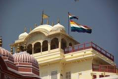 Het paleis van de stad in Jaipur, Rajasthan Stock Foto