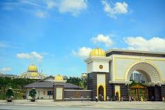 Het paleis van de sultan, Kuala Lumpur, Maleisië royalty-vrije stock afbeelding
