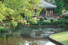 Het Paleis van de voorzitter, Bogor, Indonesië stock afbeelding