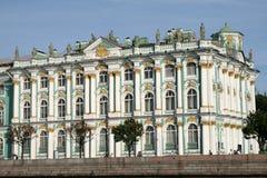 Het Paleis van de winter in Heilige Petersburg Stock Foto's