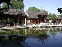 Het paleis van de zomer stock afbeelding