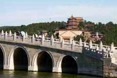 Het paleis van de zomer in Peking Stock Afbeelding