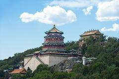 Het Paleis van de zomer in Peking Royalty-vrije Stock Foto's