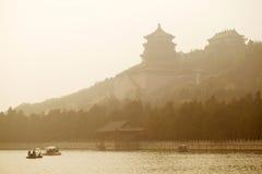 Het paleis van de Zomer, Peking Stock Fotografie