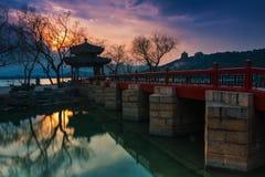 Het paleis van de Zomer in Peking Stock Fotografie