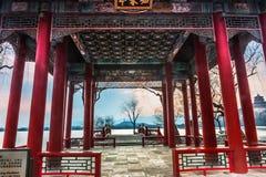 Het paleis van de Zomer in Peking Stock Afbeeldingen
