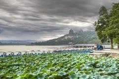 Het Paleis van de zomer - Peking China stock foto's