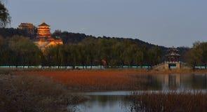Het Paleis van de zomer, Peking, China Stock Fotografie