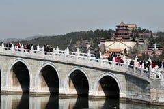 Het paleis van de Zomer in Peking China Stock Afbeelding
