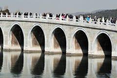 Het paleis van de Zomer in Peking China Stock Foto