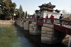 Het paleis van de Zomer in Peking China Royalty-vrije Stock Foto