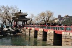Het paleis van de Zomer in Peking China Royalty-vrije Stock Afbeeldingen