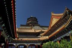 Het Paleis van de zomer, Peking, China royalty-vrije stock foto's