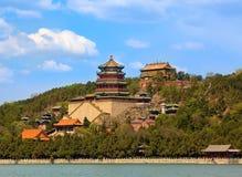 Het paleis van de Zomer in Peking, China Stock Afbeeldingen