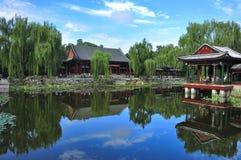 Het paleis van de Zomer van Peking Stock Fotografie