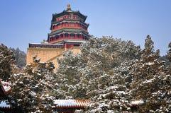 Het paleis van de Zomer van Peking Royalty-vrije Stock Foto's