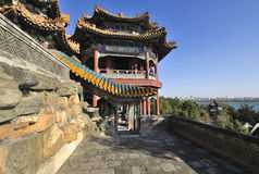 Het paleis van de Zomer van Peking Stock Foto