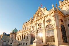 Het Paleis van de Zomer van Wenen Stock Foto's