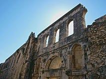 Het paleis van Diocletian - zilveren poort royalty-vrije stock afbeeldingen