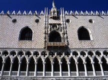 Het Paleis van doges, Venetië royalty-vrije stock foto's
