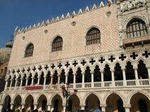 Het paleis van Doges - Venetië, stock afbeeldingen