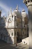 Het paleis van doges, Venetië. stock foto's
