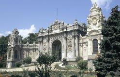 Het paleis van Dolmabahce stock afbeeldingen