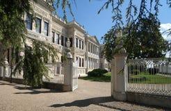 Het paleis van Dolmabahce in Istanboel Royalty-vrije Stock Fotografie